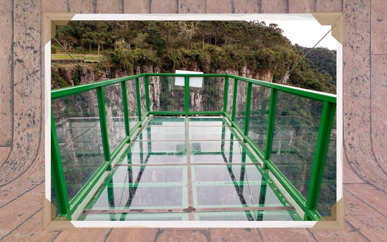 mirante de vidro Urubici