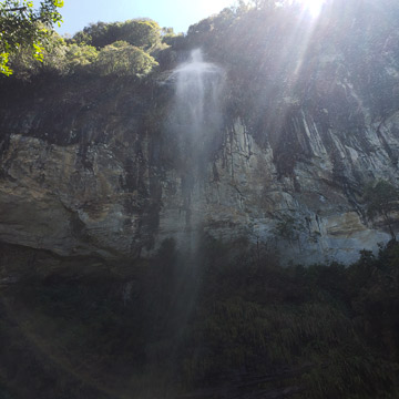 cascata bailarina urubici
