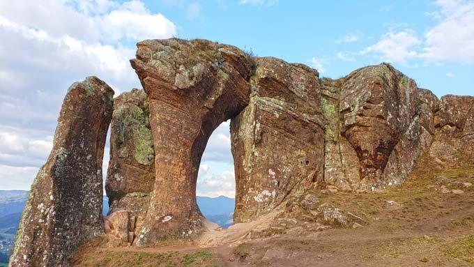 vista pedra morro do campestre urubici