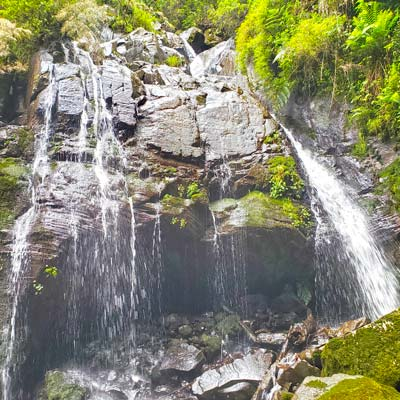 cascata dança das águas